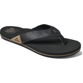 Reef Newport Sandals Men, negro
